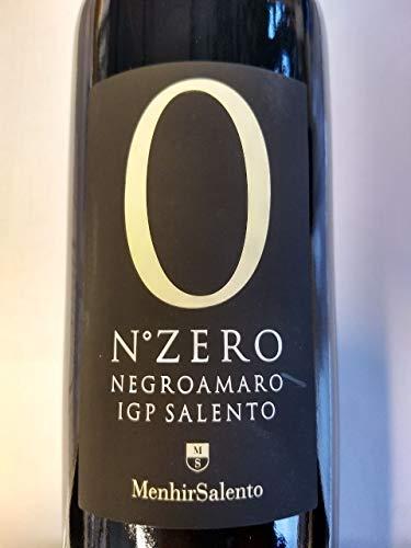 Menhir N. Zero Negroamaro IGT 2019 0,75 L - rot, trocken 14 % Vol. Italien