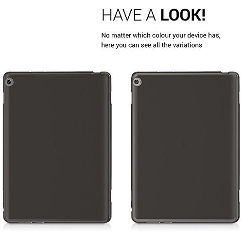 kwmobile Huawei MediaPad M3 Lite 10 Hülle - Silikon Tablet Cover Case Schutzhülle für Huawei MediaPad M3 Lite 10 - Schwarz - 4