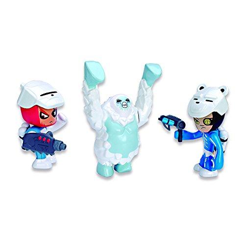 Mutant Busters - Set 3 figuras nieve (Famosa 700012142)