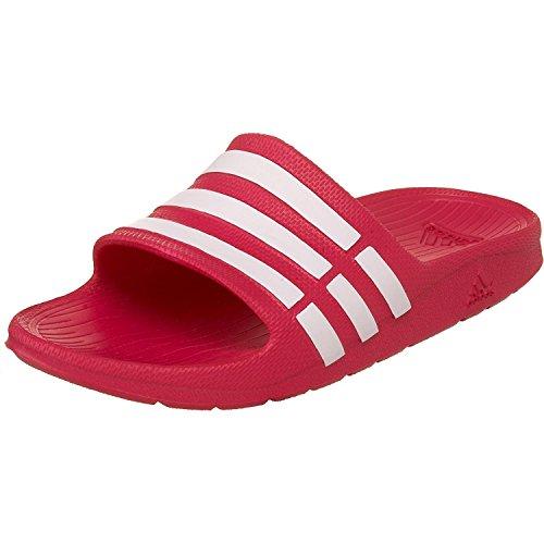 adidas Duramo Slide K, Scarpe da Spiaggia e Piscina Bambina, Rosa (Pink Buzz/Running White Footwear/Pink Buzz 0), 28 EU
