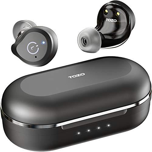 TOZO NC9 Auriculares Bluetooth ANC con cancelación Activa Control táctil 5.0 en...