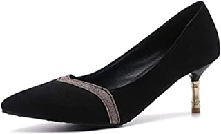Smilice Women Court Shoes with Thin Heel