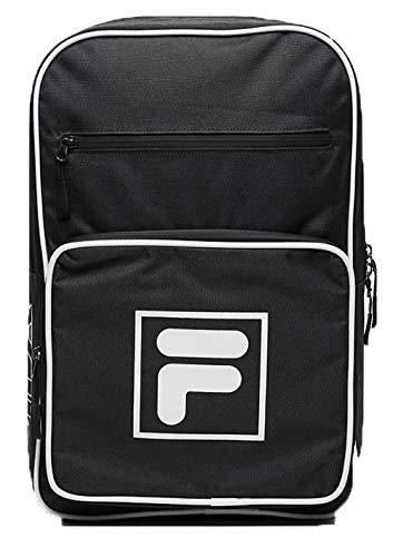FILA Unisex-Erwachsene Backpack Köln Rucksack Schwarz (Black)