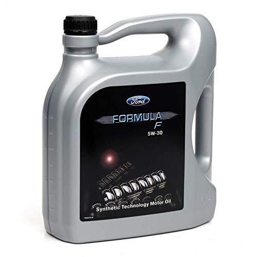 Ford Aceite de Motor 1502266 Formula F 5W30 Completamente sintético, 5 litros