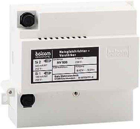 NV 806 (NGV 806) Netzgleichrichter/Verstärker Balcom-CTC