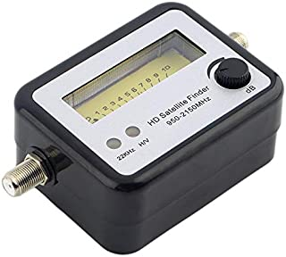 Satellite Signal Strength Meter Finder Squawker Finder Locator Tester 13-18 VDC 75 Ohm Dish Network 2 GHz