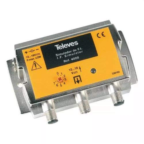 Televes 4008–Simulator Fi H.8Konfiguration