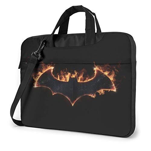 Laptop Shoulder Messenger Bag Briefcase Bat-Man Laptop Bag Shockproof Foam Computer Protective Bag 13 inch