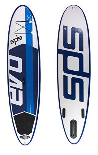 Paddel Surf SUP SPS EVO 10x30x4 All Round + Remo Vario fibra + Mochila Ruedas