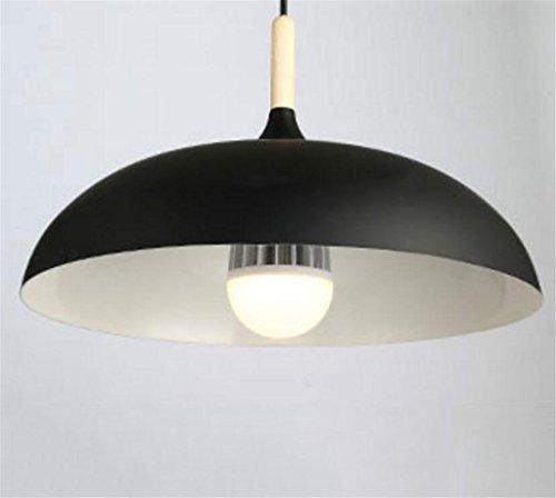 Madaye Moderne simple lustre créatif personnalité bois massif table à manger lampe salon chambre à coucher bureau lumière 45*25cm