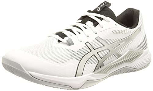 ASICS Gel-Tactic, Running Hombre, White Pure Silver, 46 EU