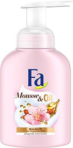 FA Schaumseife Mousse & Oil mit Mandel-Öl und Magnolien-Duft, 1er Pack (1 x 250 ml)