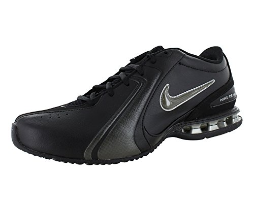 Nike Men's Reax Trainer III Synthetic Leather Training Shoe Black/Newsprint Size 7.5 M US
