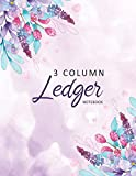 Ledger Notebook: 3 Column Accounting Ledger Book | Bookkeeping Notebook | Columnar Notebook | Budgeting and Money Management (Business Journal)