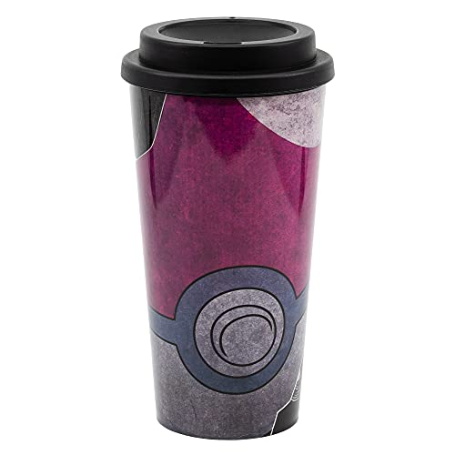 Pokemon | Vaso De Café para Llevar - Taza Reutilizable para Te O Café Sin BPA con Tapa Antigoteo 520ml