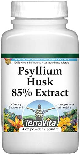 Psyllium Husk 85% Extract Powder oz 4 ZIN: Financial sales sale Fees free 520090