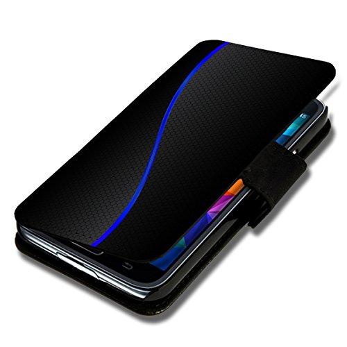 sw-mobile-shop Book Style Flip Handy Tasche Case Schutz Hülle Schale Motiv Foto Etui für Wiko Stairway - A46 Design4