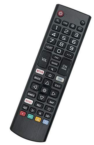 Replaced Remote Control Compatible for LG 43UM6910PUA 49UM7300PUA 50UM7400PUA 50UM7300AUE 55UM7400PUA 55UM7100PUA 55UM7200PUA 60UM7200PUA 65UM7400PUA Smart TV