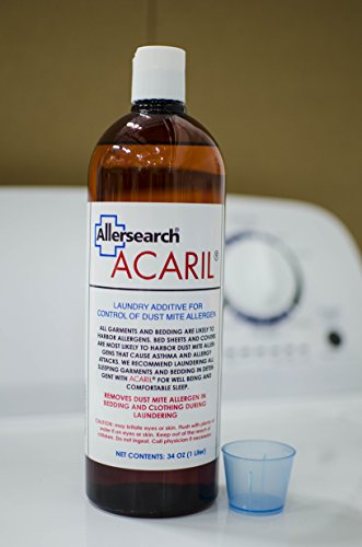 Allersearch® ACARIL ® 34 Oz. (1 Liter) Laundry Additive