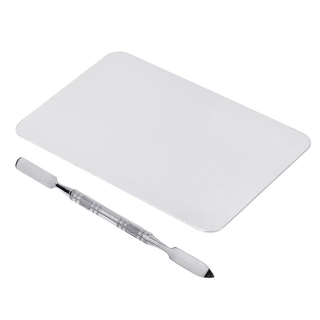 くるくる合成包括的ACAMPTAR 2色のメイクパレットマニキュア、メイクアップ、アイシャドウパレットパレットセット12cm