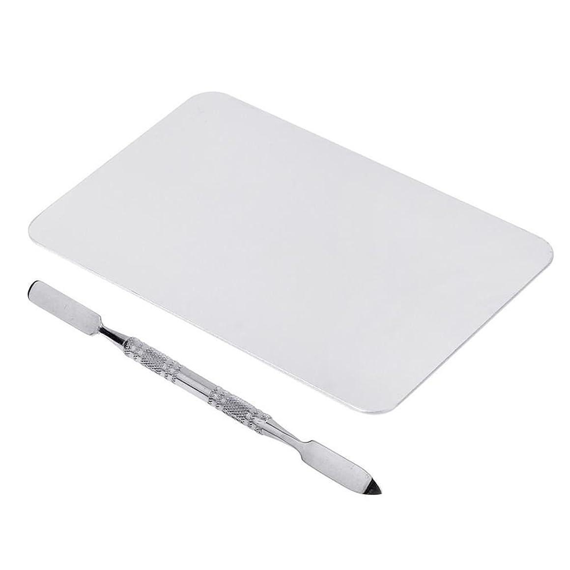 月曜脚本インフラNrpfell 2色のメイクパレットマニキュア、メイクアップ、アイシャドウパレットパレットセット12cm