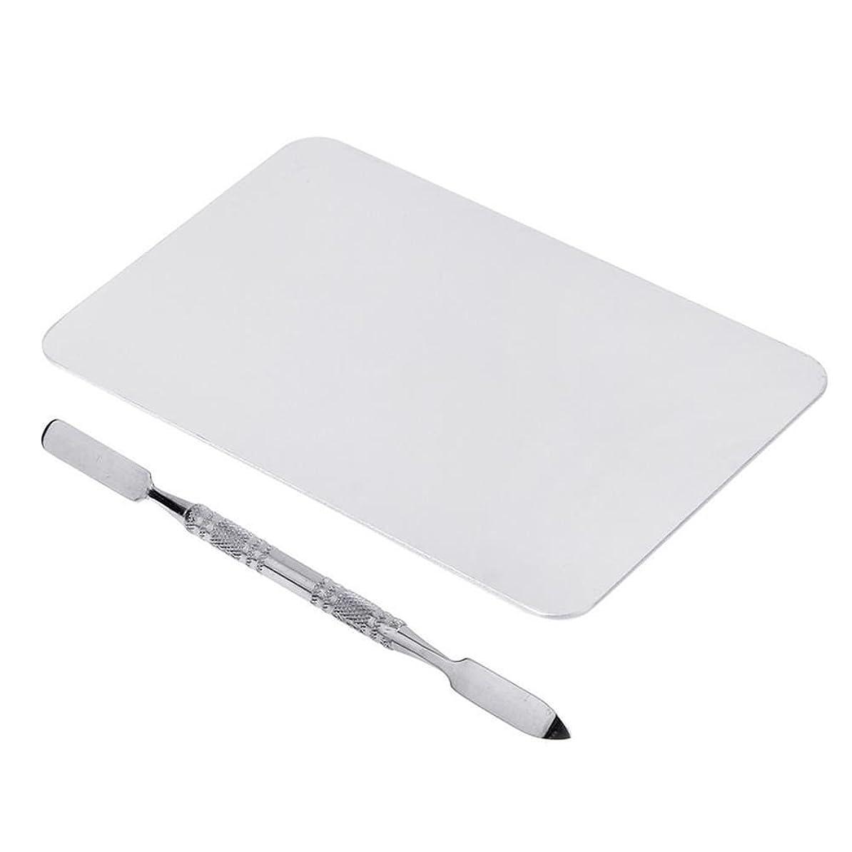 シャープバンド例示するCUHAWUDBA 2色のメイクパレットマニキュア、メイクアップ、アイシャドウパレットパレットセット12cm