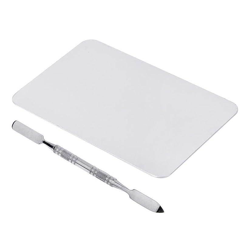 曇ったコンサルタント小包SNOWINSPRING 2色のメイクパレットマニキュア、メイクアップ、アイシャドウパレットパレットセット12cm