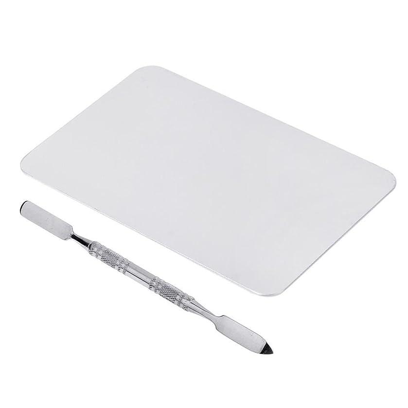 重々しい初心者読みやすいCUHAWUDBA 2色のメイクパレットマニキュア、メイクアップ、アイシャドウパレットパレットセット12cm