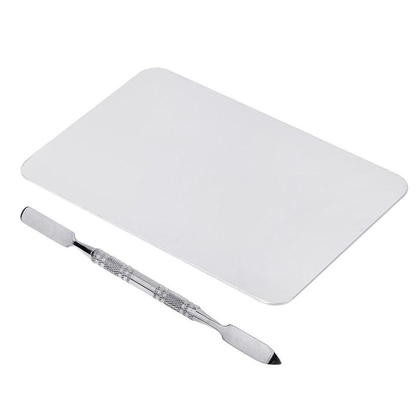 気体の東方与えるGaoominy 2色のメイクパレットマニキュア、メイクアップ、アイシャドウパレットパレットセット12cm