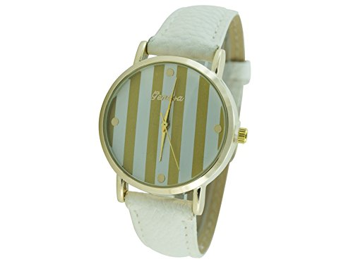 Geneva Geneva Platinum Bande - Reloj Color Blanco