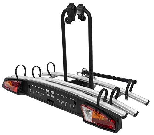 VDP Auto Fahrradträger Merak Rapid 3 – universal, abschließbarer Heckträger für 3 Fahrräder oder 3 eBikes