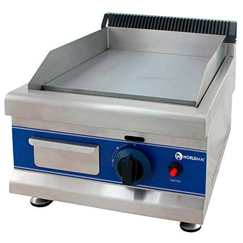 Plancha fry-top profesional cromo duro gas 35 - Maquinaria Bar Hostelería