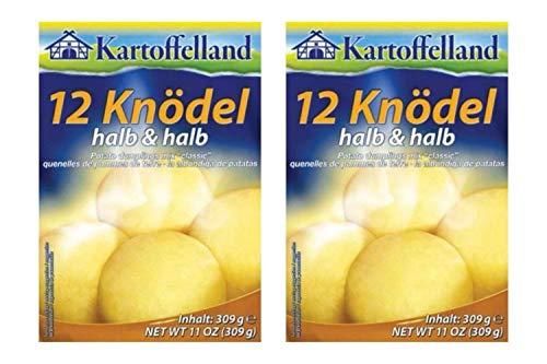 Kartoffelland 12 Halb And Halb Delicious Potato Dumplings Mix, 11...