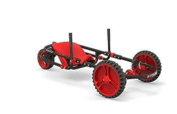 YBIKE Explorer Pedal Car Red/Black