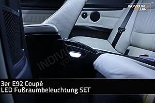 Fußraumbeleuchtung SET hinten für 3er E92 Coupé   Cool White