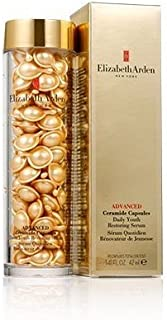 Elizabeth Arden Advanced Ceramide Capsules Daily Youth Restoring Serum Helps to Maintain Healthy and Youthful Looking Skin, 90caps