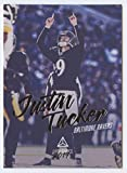 2019 Luminance Football #12 Justin Tucker Baltimore Ravens Official NFL Trading Card From Panini America