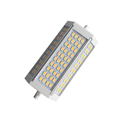 CHUI R7S Lineare Dimmbar LED Mais Birne 135mm,40W 5730SMD Double Ended Energiesparlampen,Ersetzen CDM-TC Halogen Lampe Glühbirne,3600lm,Silikon Flutlicht Leuchtmittel,AC 230V Warmweiß Kaltweiß,3000K