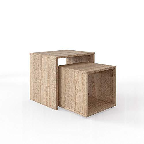 Vicco Couchtisch Beistelltisch Set - Wohnzimmer Sofatisch Kaffeetisch 2 Farbvarianten - Top Design