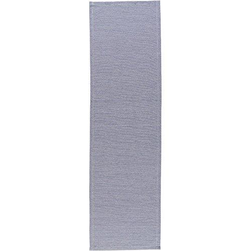 Esprit Home 21455-081-40-140 Tischlufer Needlestripe Gre 40 x 140 cm, blau