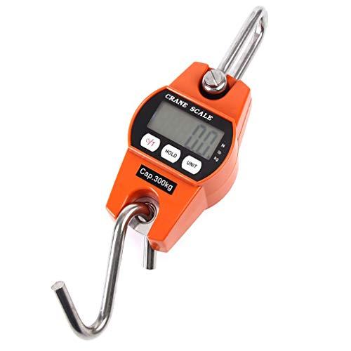 TIREOW Hand LCD 300 KG Elektronische Digitalwaage Reise Fischgepäck Hängen Haken Gewicht Hängewaage Kofferwaage Gepäckwaage
