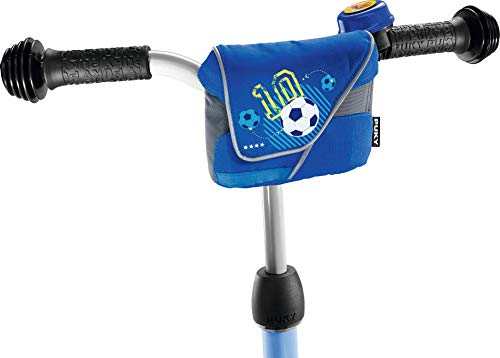 Puky 9715 LT 1 Lenkertasche, Blau Fußball