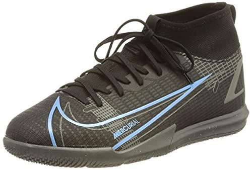 Nike Mercurial Superfly 8 Academy IC, Scarpe da Calcio, Black/Black-Iron Grey, 38 EU