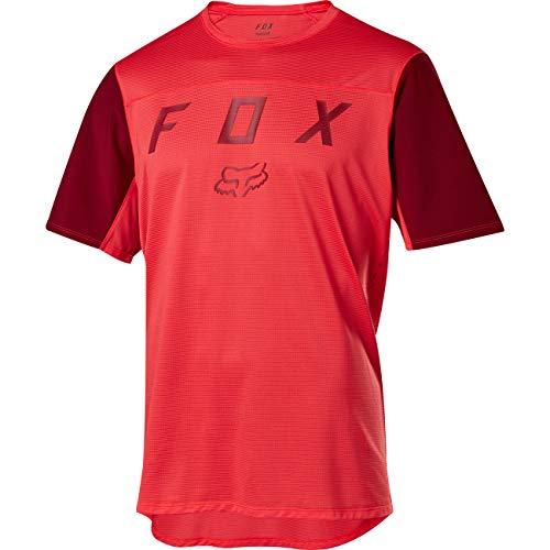 FOX MTB-Jersey Kurzarm Flexair Moth Rot Gr. L