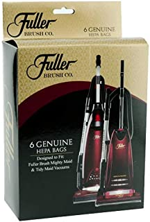 Fuller Brush Might Maid and Tidy Maid Hepa Media Bag (Set of 6) by
