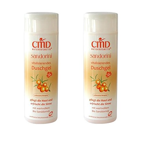 CMD Sandorini Duschgel mit Bio-Sanddornöl 2er-Pack (bio, vegan)