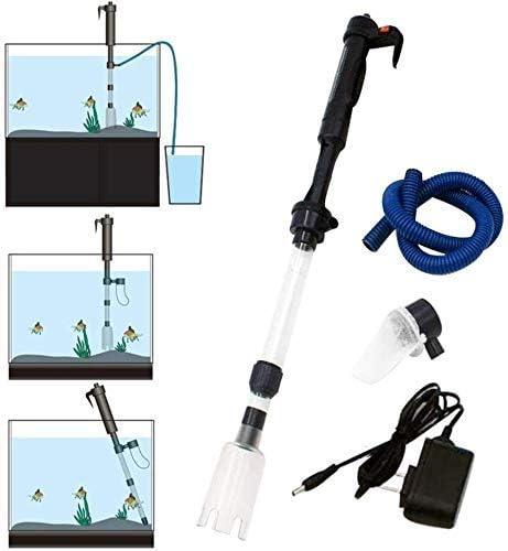 Electric Aquarium Gravel Cleaner Louisville-Jefferson Dedication County Mall Vacuum S Fish Type Siphon Tank