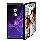 Fundas de móvil Samsung S9 Plus Personalizadas con Fotos y Texto   Fundas Negras con los Laterales Flexibles para el Samsung Galaxy S9 Plus