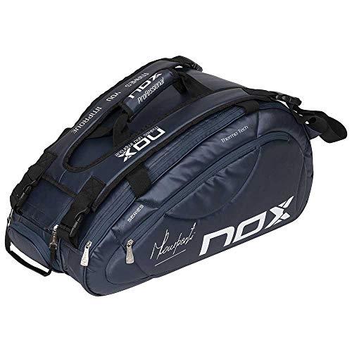 NOX Pro Series Paletero, Deportes de Raqueta, Azul Marino, 65,5 x 30 x 35 cm