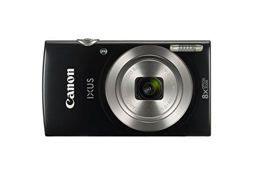 Canon IXUS 185 Black Essential Kit, 1803C010 (Kit)